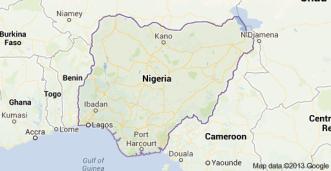 Photo: Google Map of Nigeria