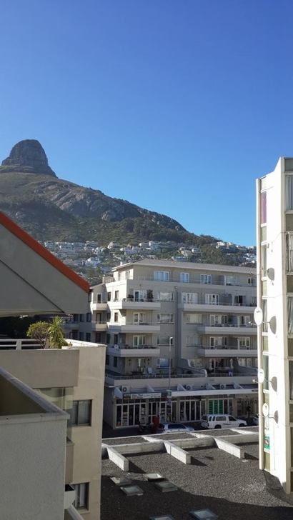 Picture taken November 2013 from a building at the Sea Point, Cape Town.